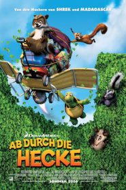 فيلم كرتون Over the Hedge 2006 عبر السياج